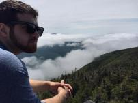 Tim on top of Cannon Mountain