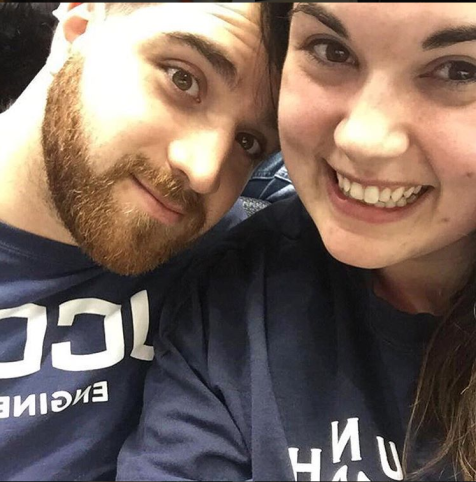 Our first getaway together, following UNH vs UConn hockey. February 2017